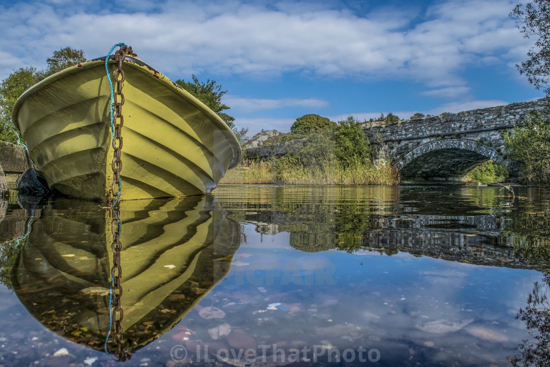 """The Little Boat"" stock image"