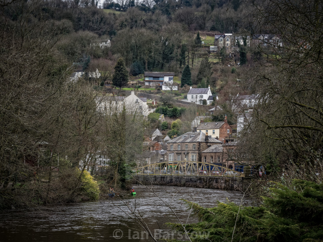 """Matlock Bath"" stock image"