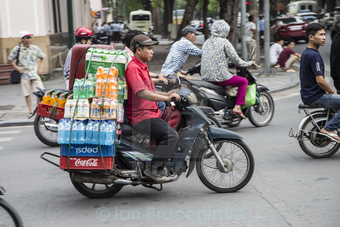 """Delivery driver"" stock image"