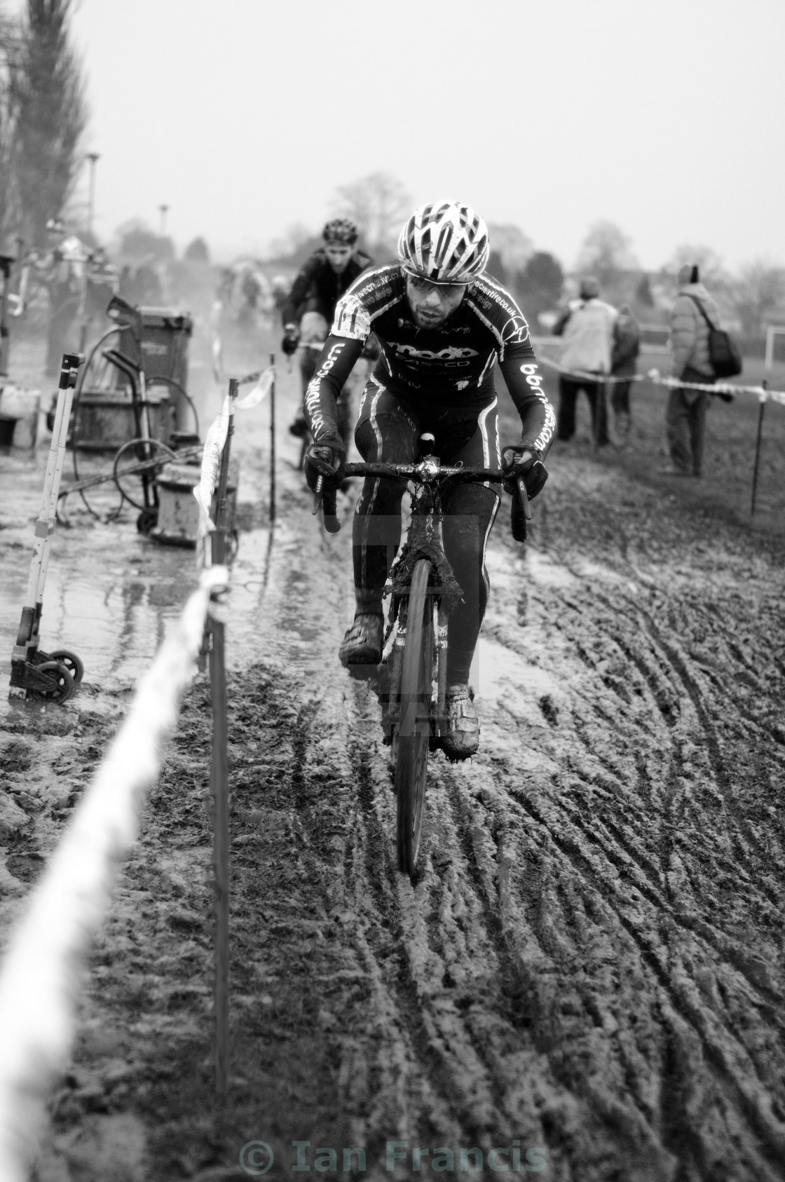 """Cyclo-Cross Race ."" stock image"