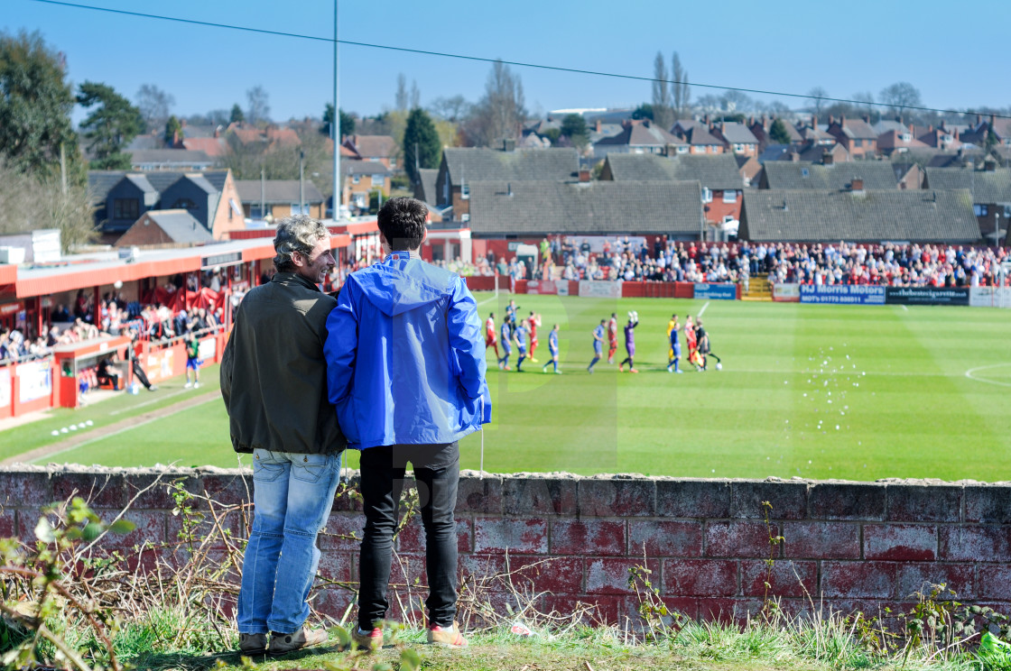 """Alfreton Town V Grimsby Town"" stock image"