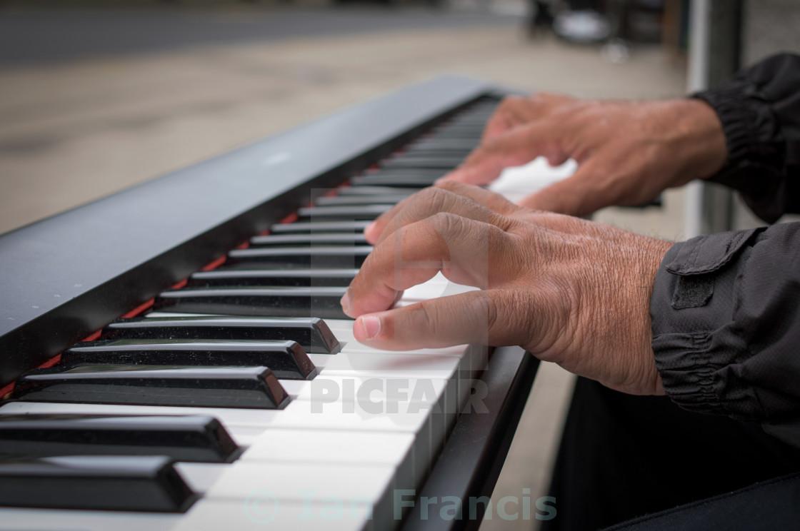 """keyboard Player"" stock image"