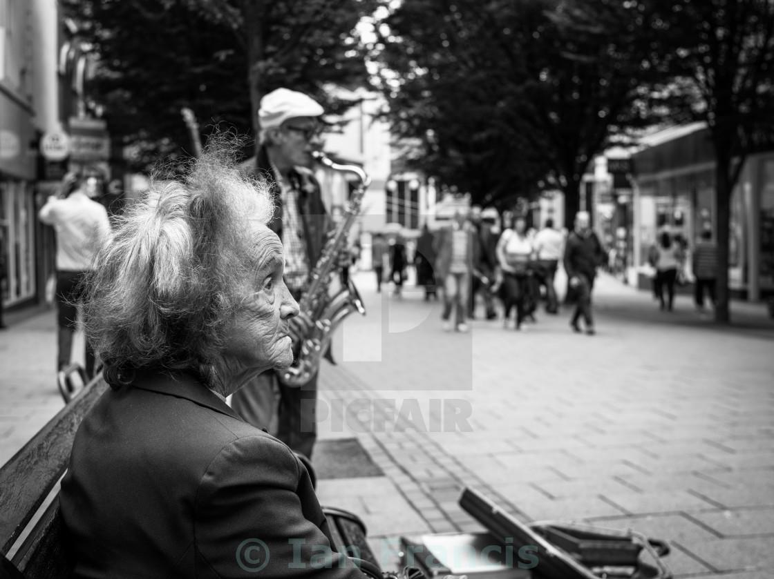 """Candid Street Photo"" stock image"