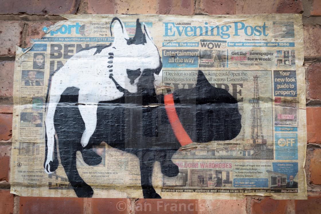 Graffiti manchesteruk stock image