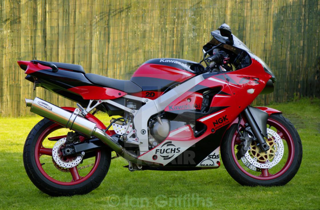 Kawasaki Z600 Ninja Stock Image