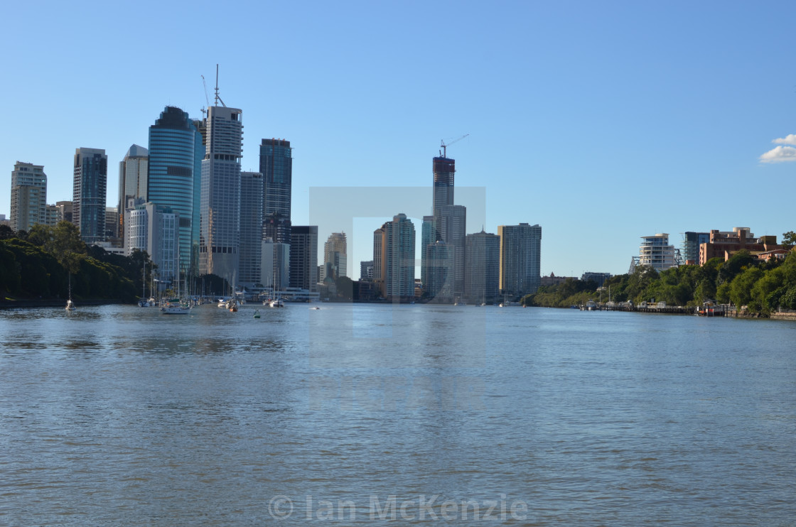 Brisbane from the river.