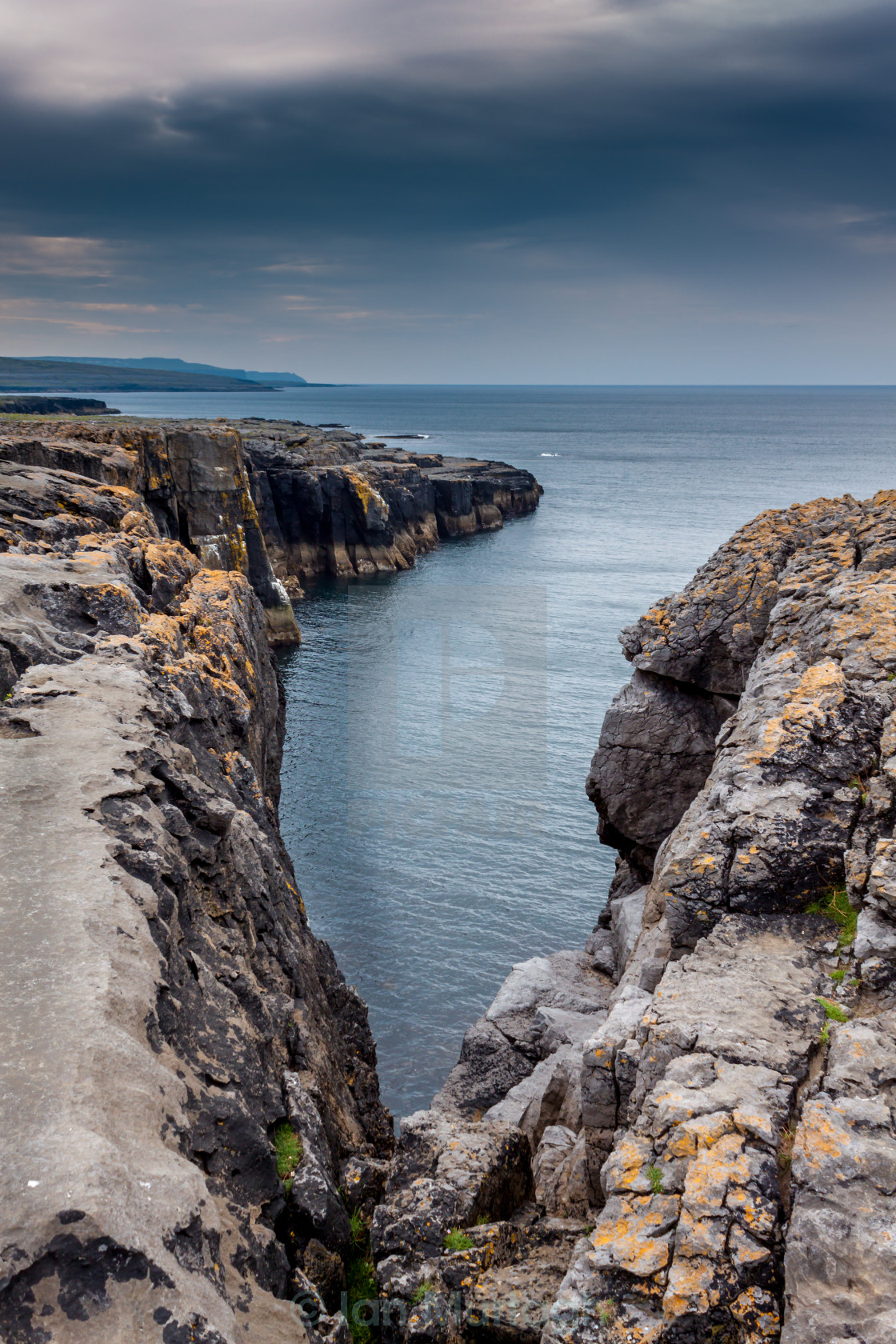 """""""Galway Cliff"""" stock image"""