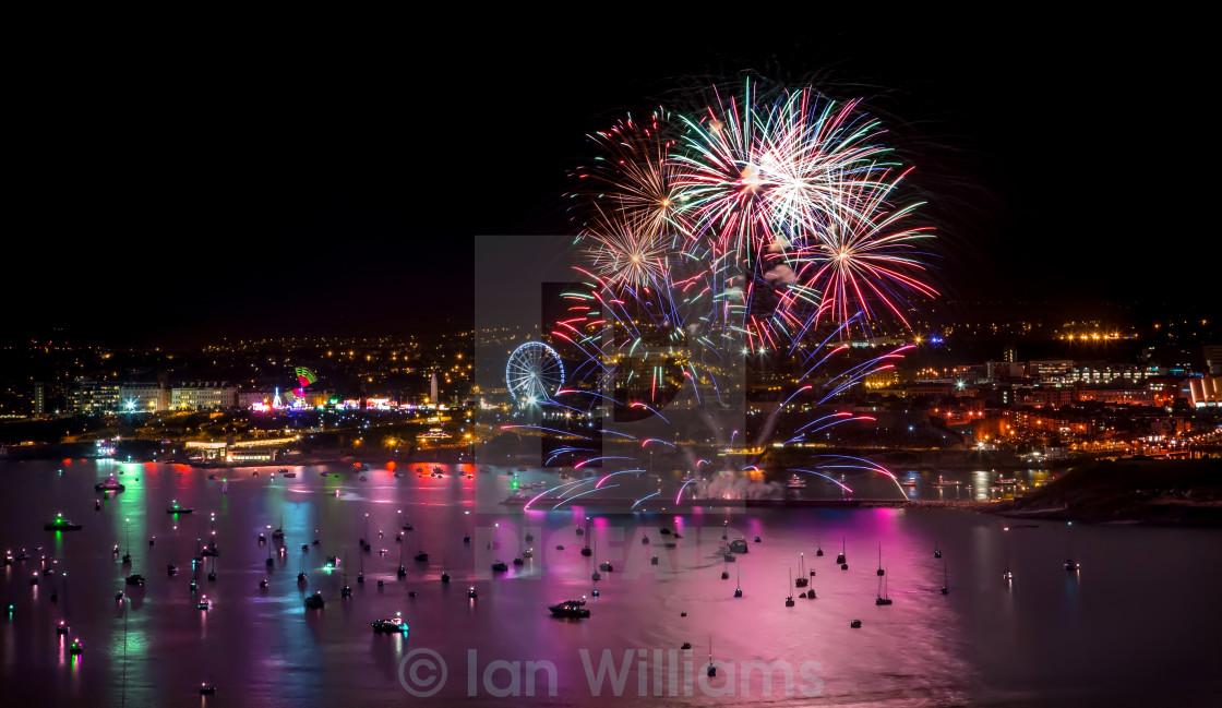 """""""Firework Festival"""" stock image"""