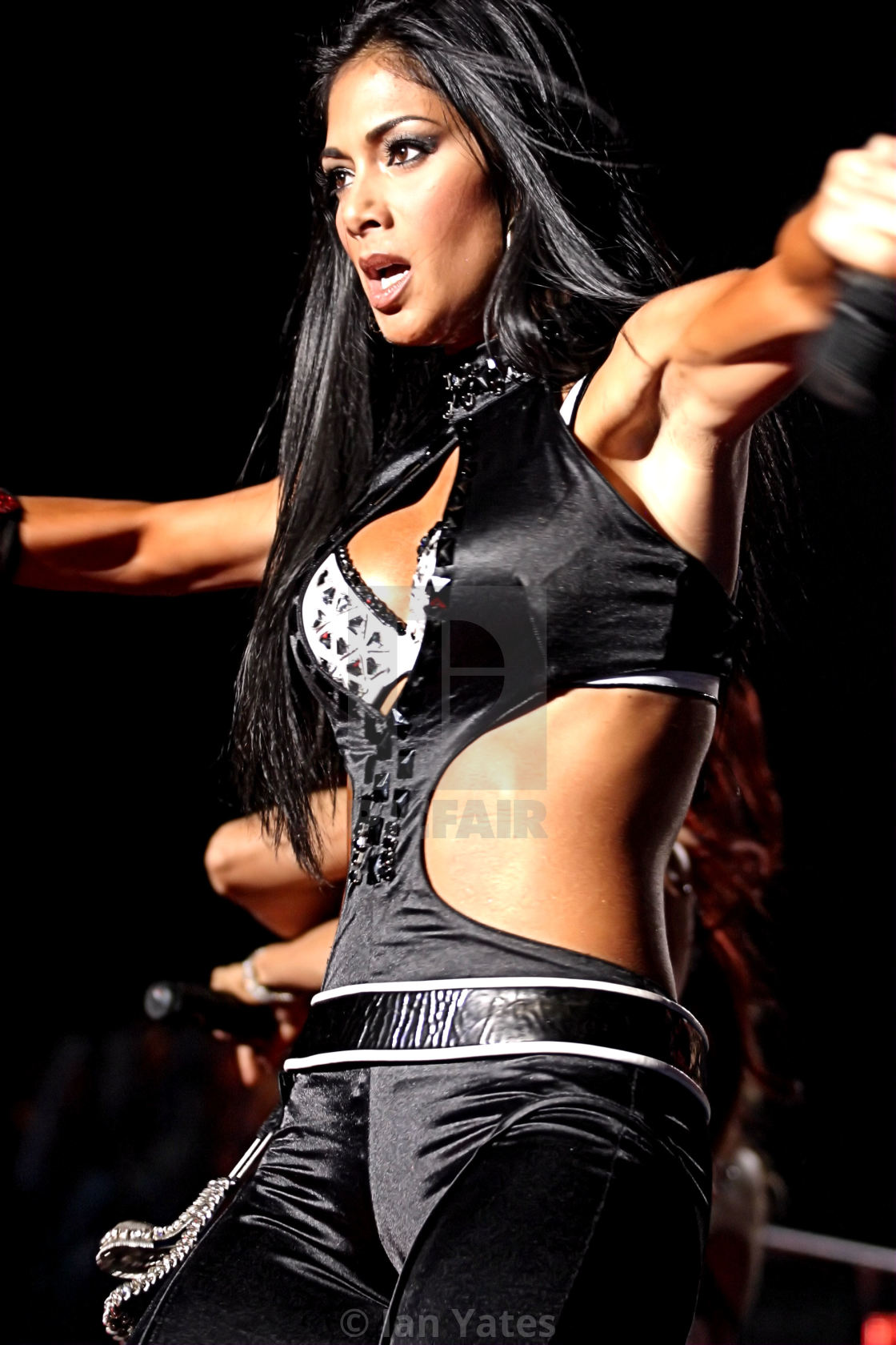 """Nicole Scherzinger of the Pussycat Dolls @ the NIA in Birmingham,"" stock image"