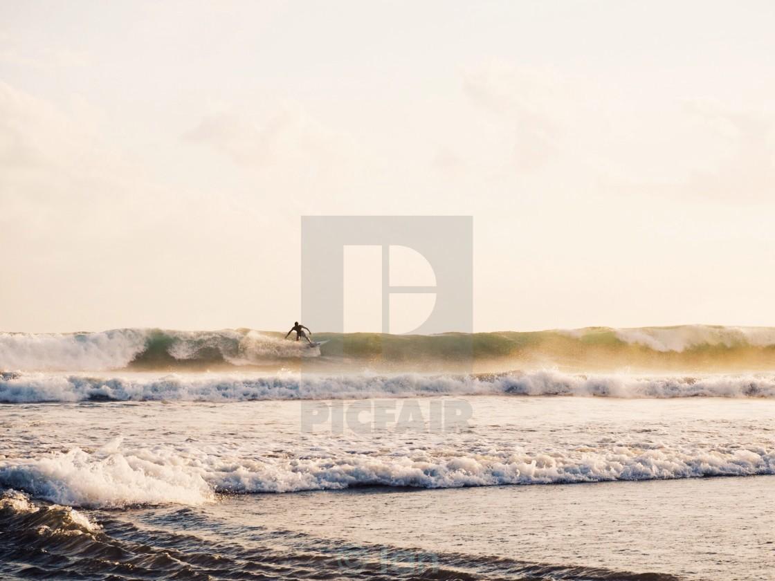 """Bali Surfer"" stock image"