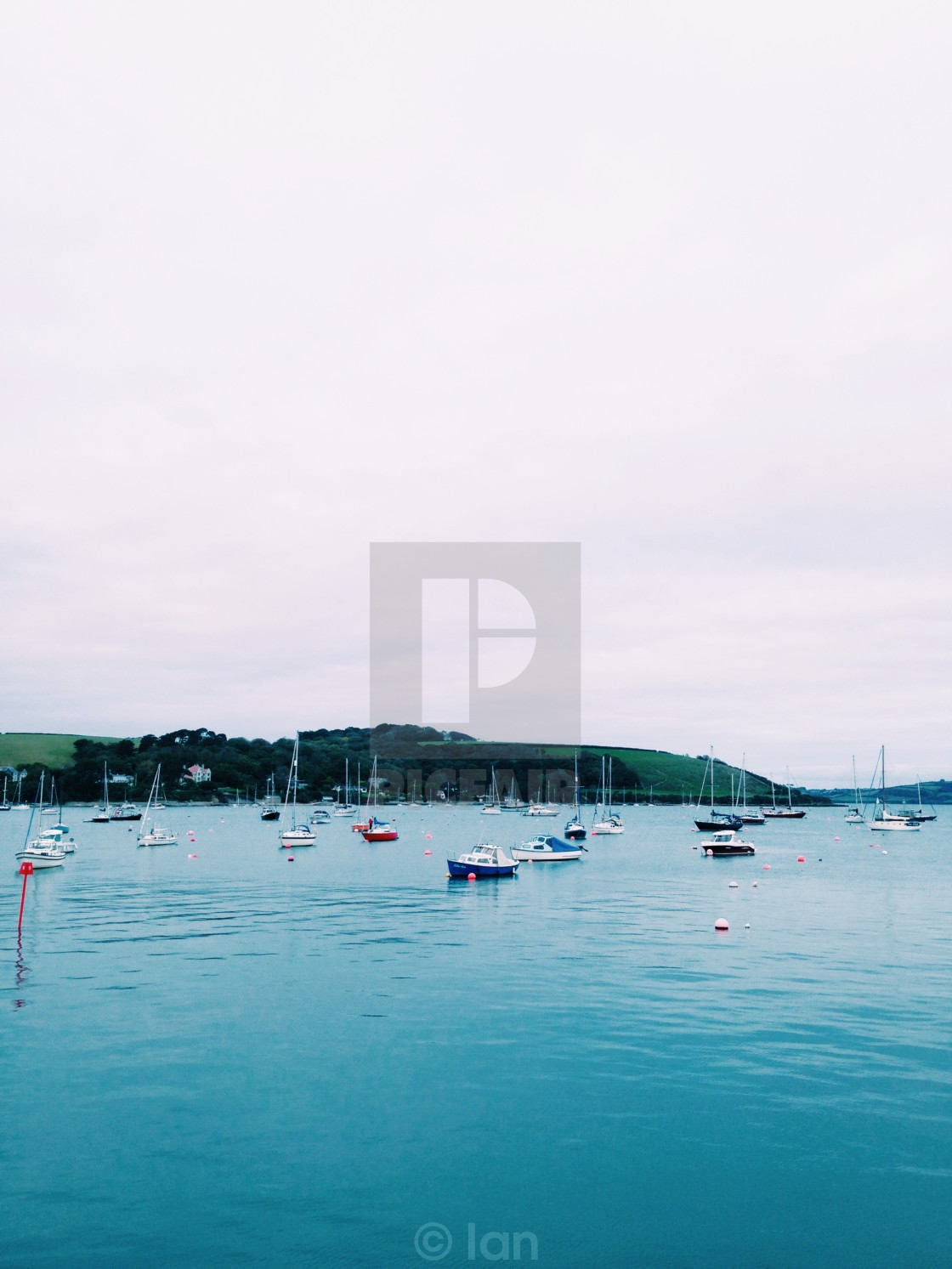 """""""Falmouth Harbour"""" stock image"""