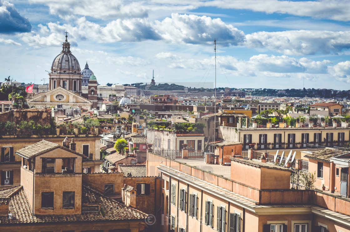 """City of Rome"" stock image"