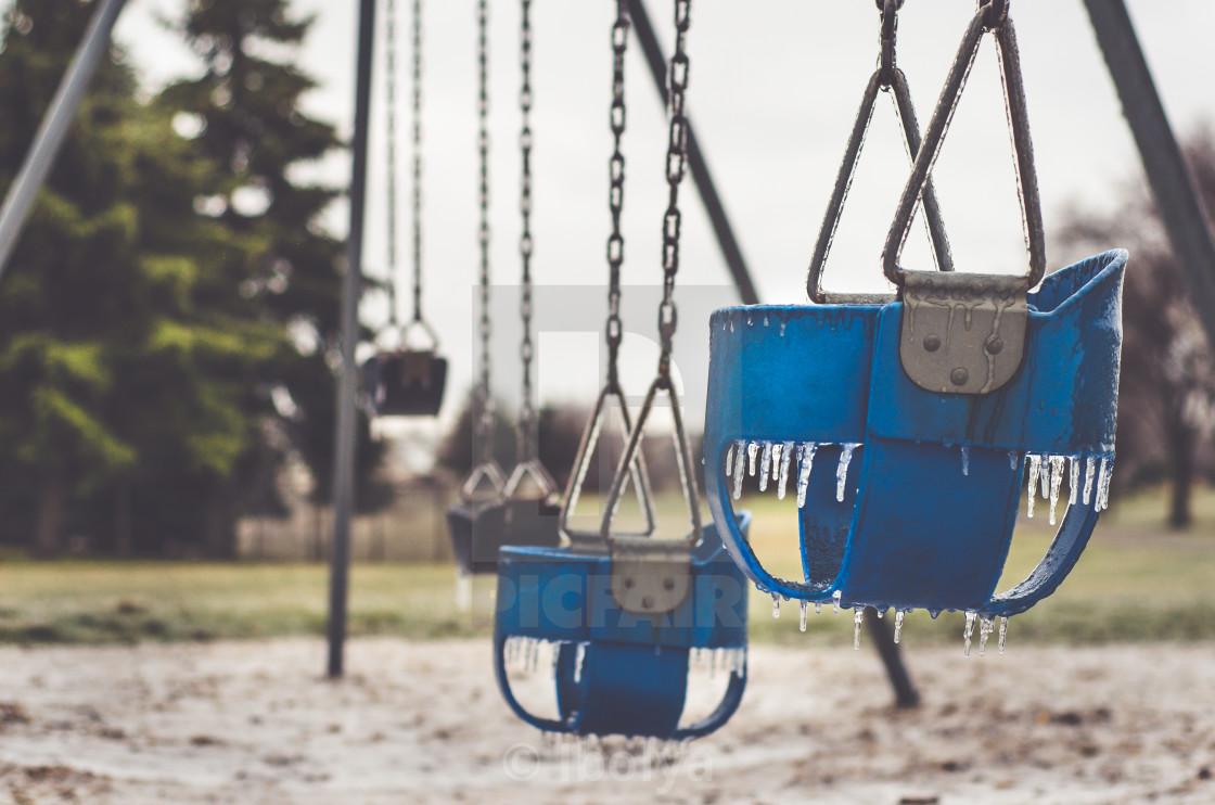 """swings"" stock image"