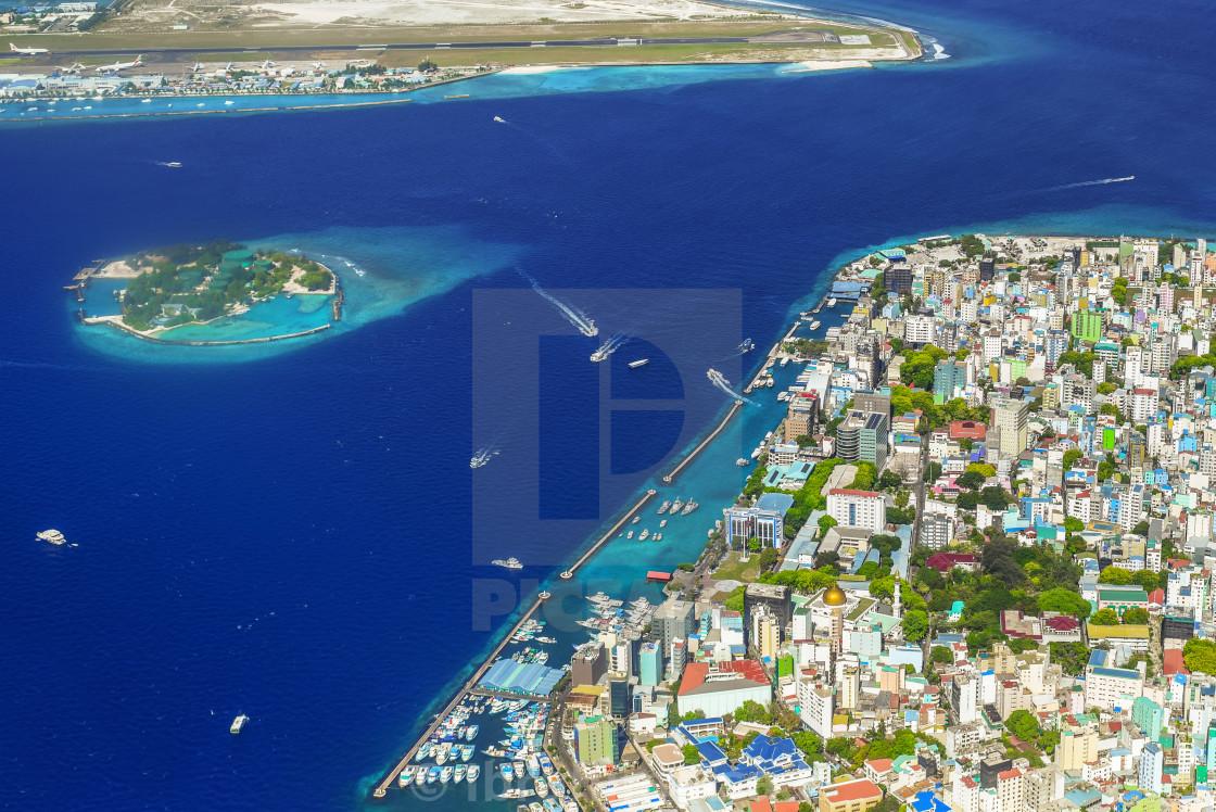Male City The Concrete Jungle Of Maldives License
