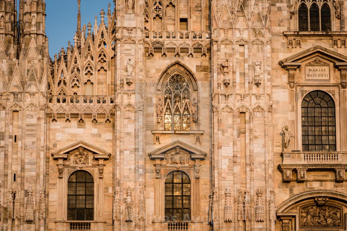 """""""MIlan Cathedral"""" stock image"""