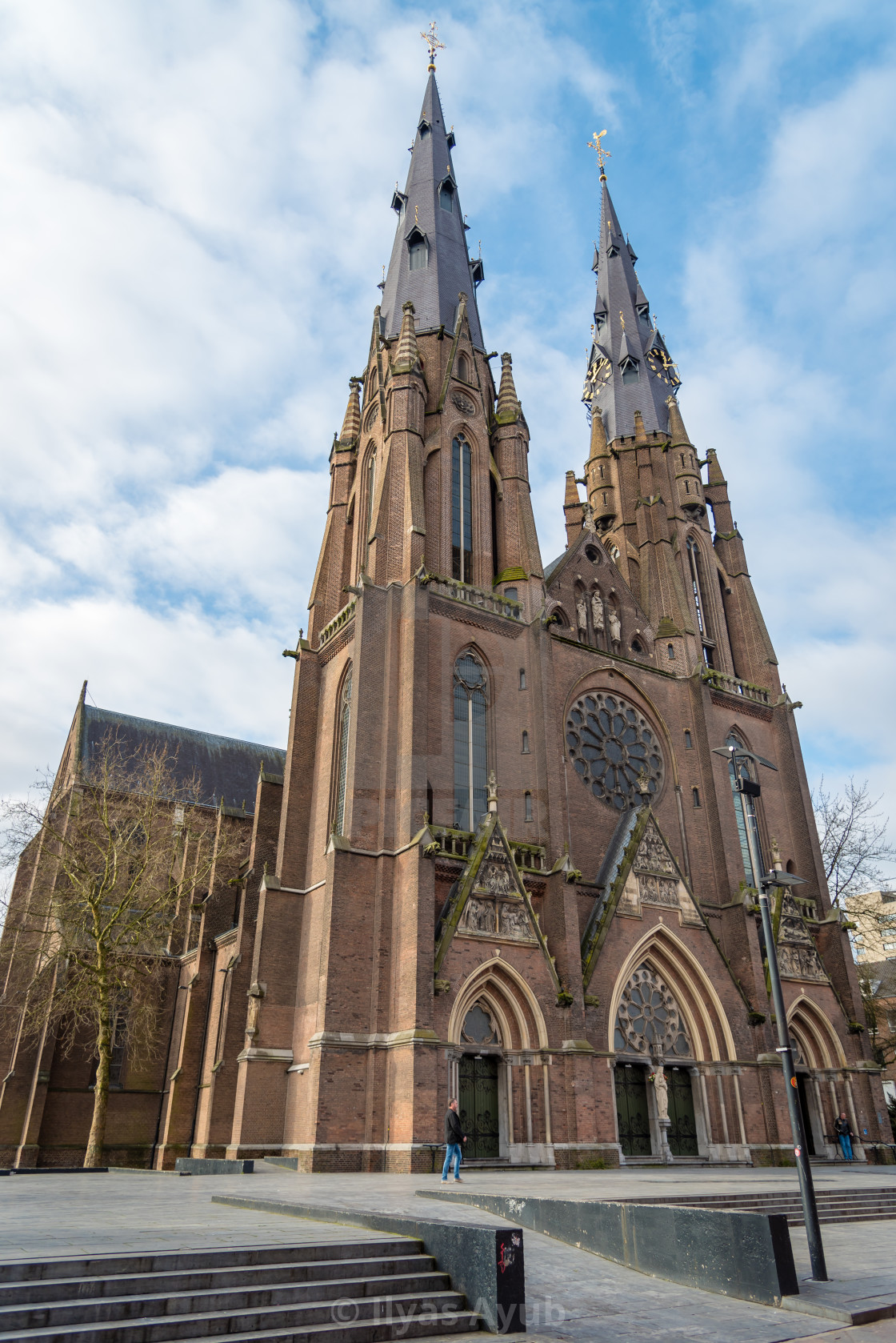 """""""Saint Catherine's Cathedral, Eindhoven"""" stock image"""