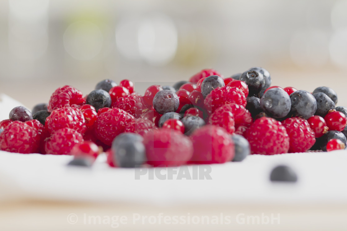 """Fresh berries"" stock image"