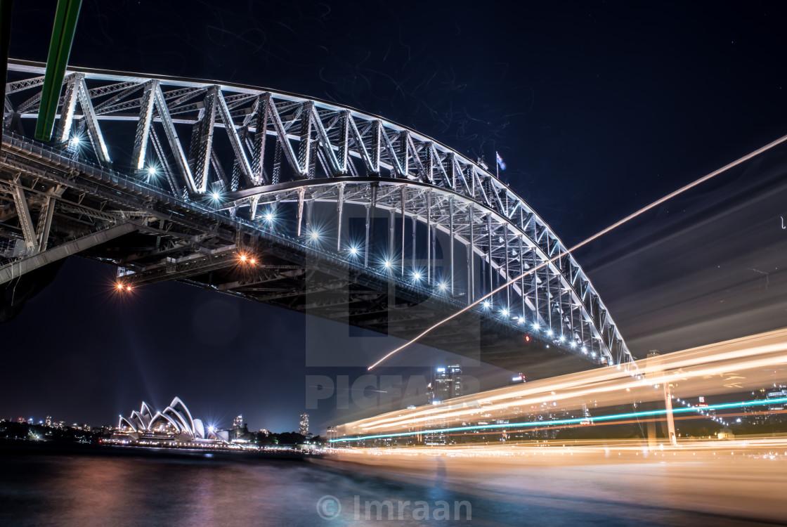 """""""Sydney Harbour Bridge"""" stock image"""