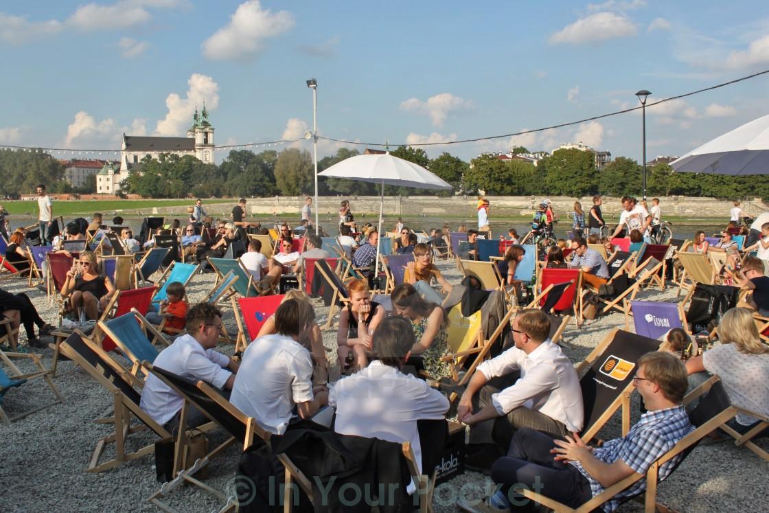 """""""Forum Przestrzenie, Krakow Poland"""" stock image"""