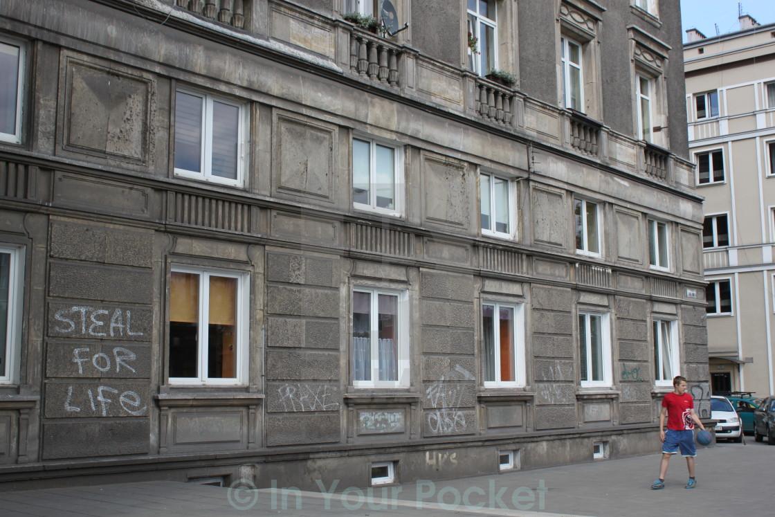 """Nowa Huta, Krakow Poland"" stock image"