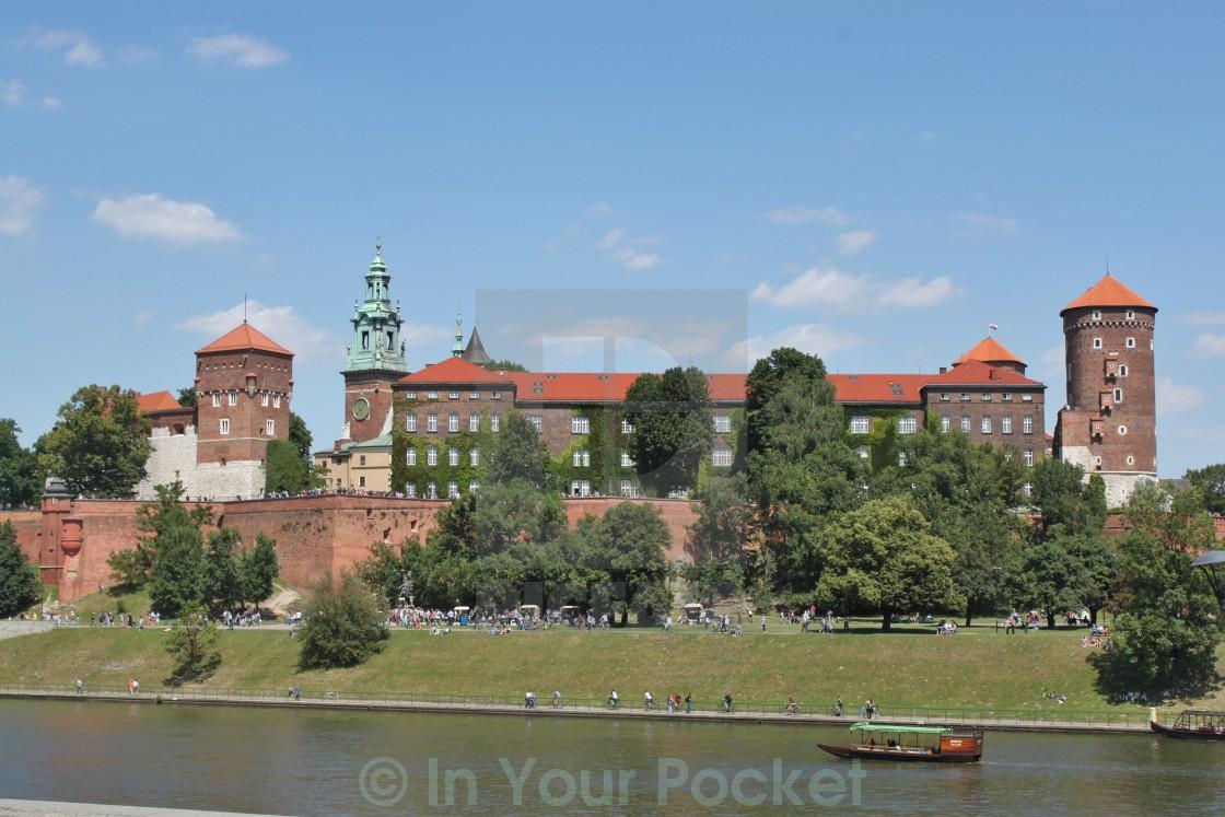"""Wawel Castle, Krakow Poland"" stock image"