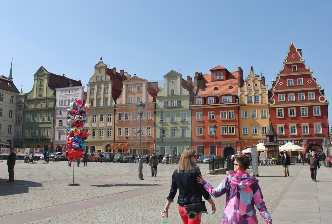 """Plac Solny, Wroclaw Poland"" stock image"
