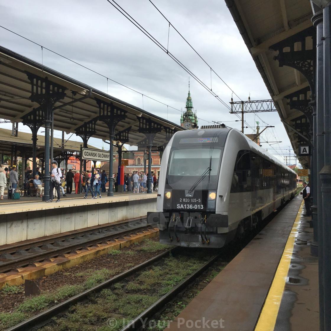 """Gdansk train station"" stock image"
