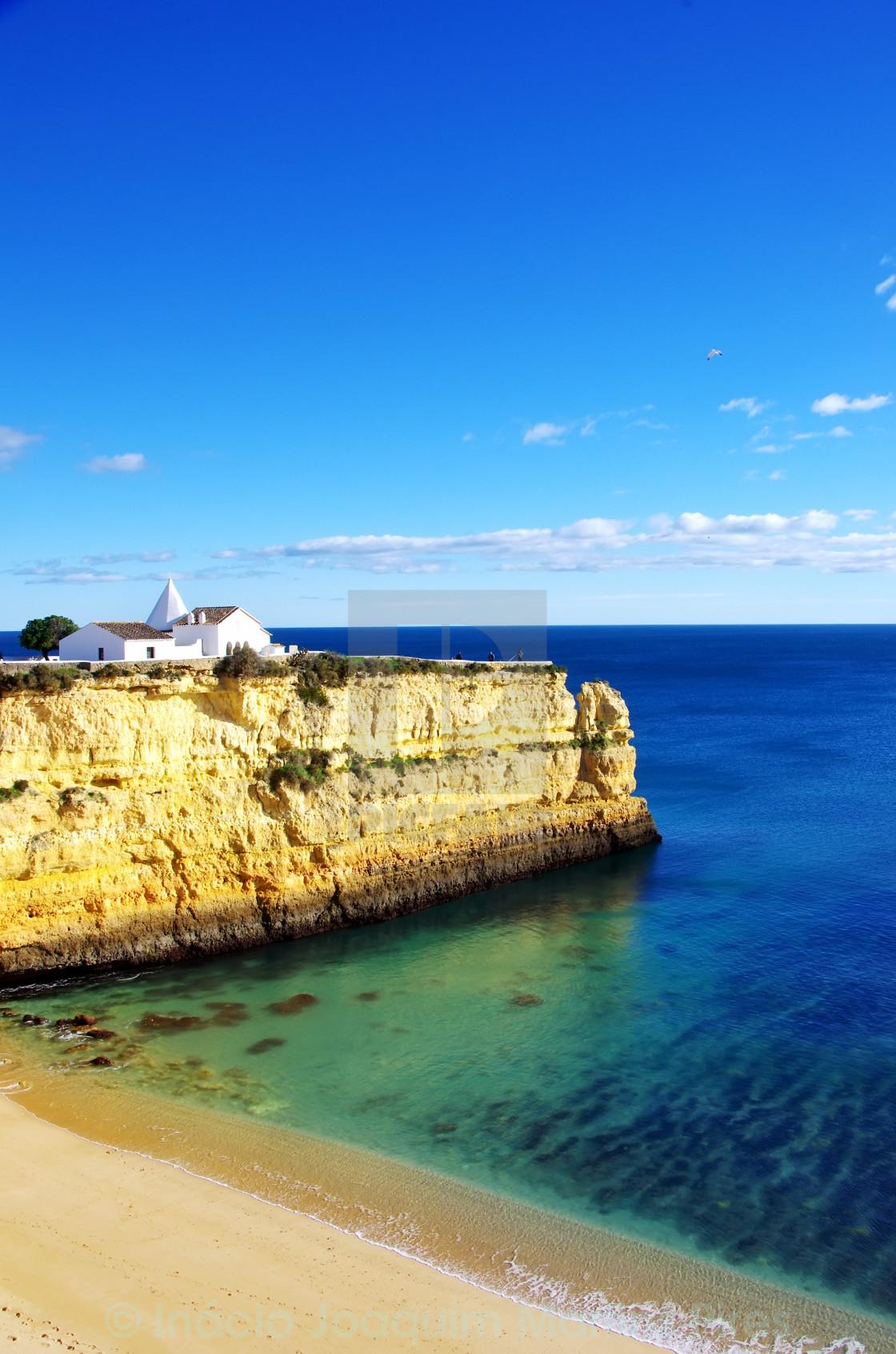 """senhora da rocha beach, Algarve, Portugal"" stock image"