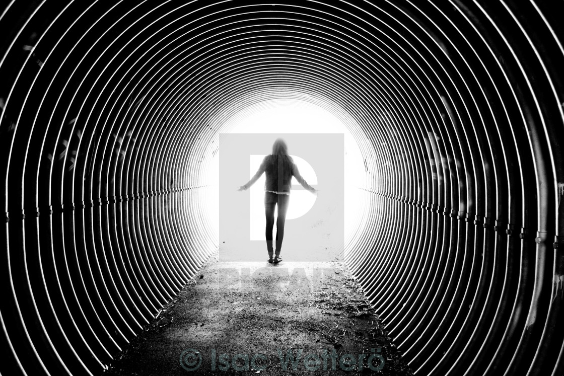 """Tunnel of Love"" stock image"