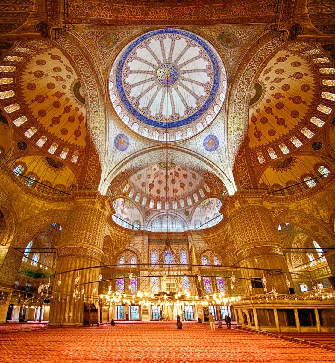 """The Blue Mosque - Istanbul, Turkey"" stock image"