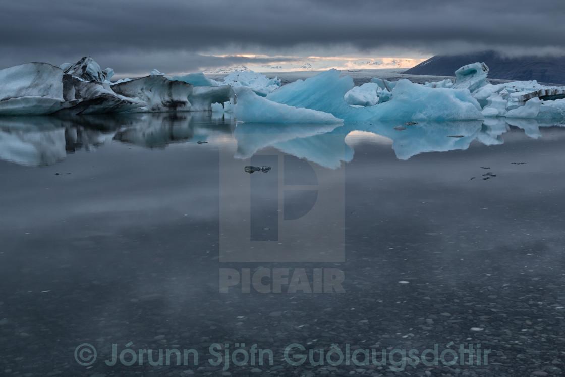 """""""floating ice"""" stock image"""
