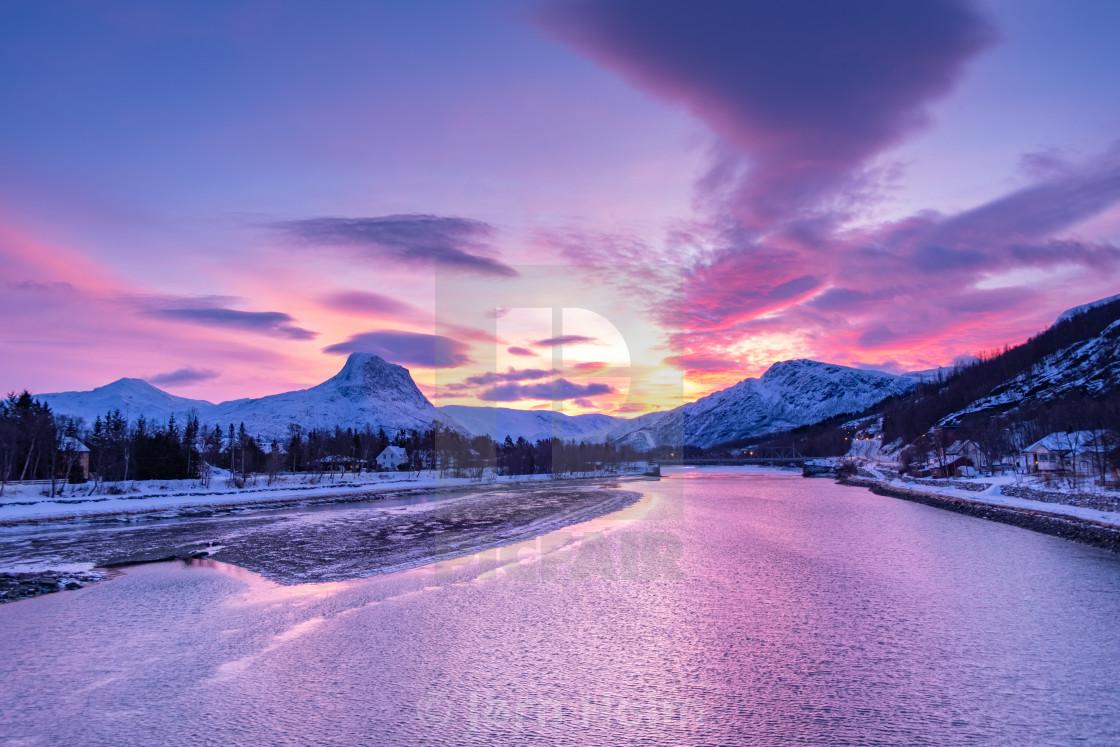 Beautiful arctic scenery