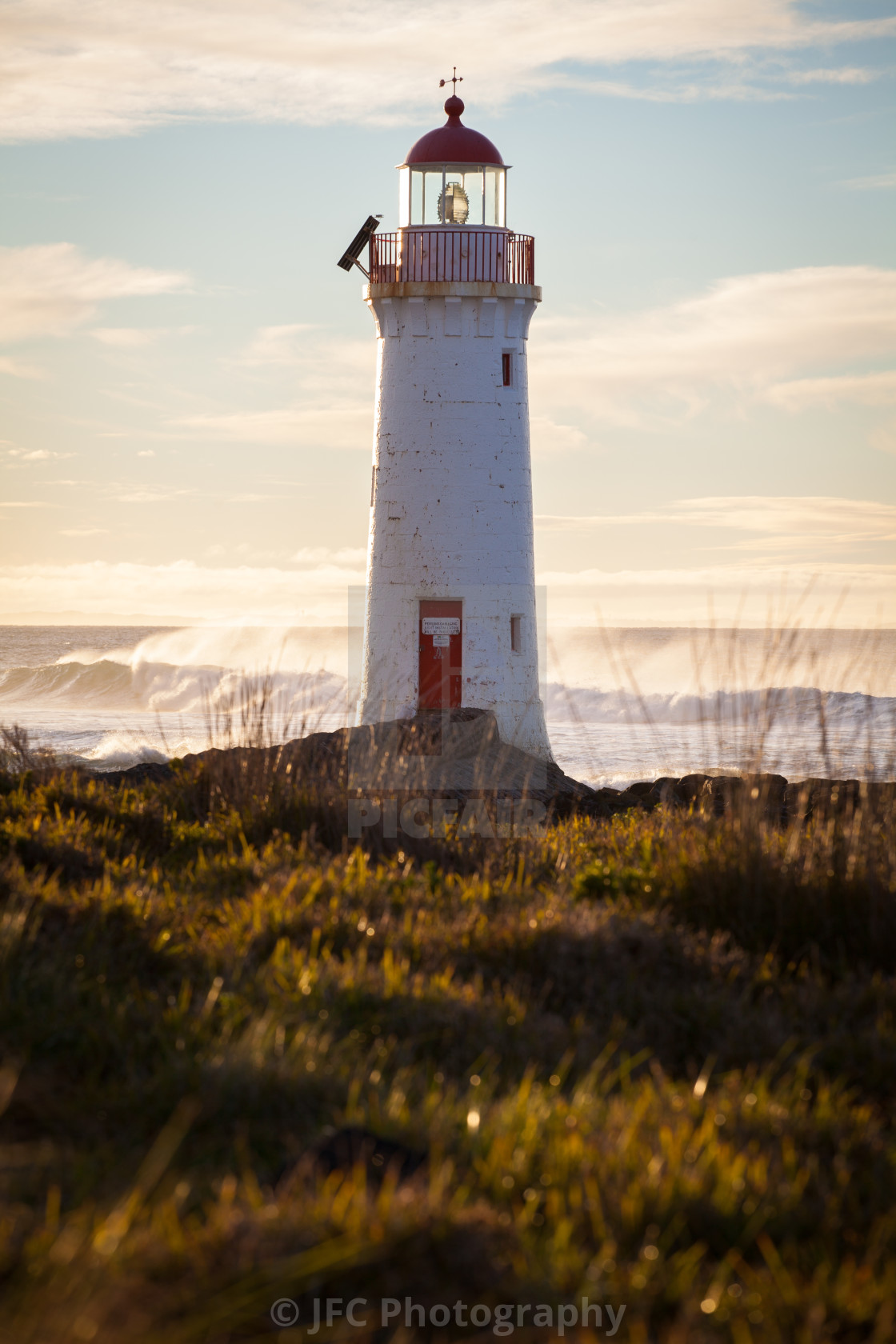"""Port Fairy Lighthouse"" stock image"