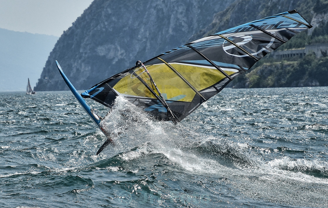 """Windsurfer"" stock image"