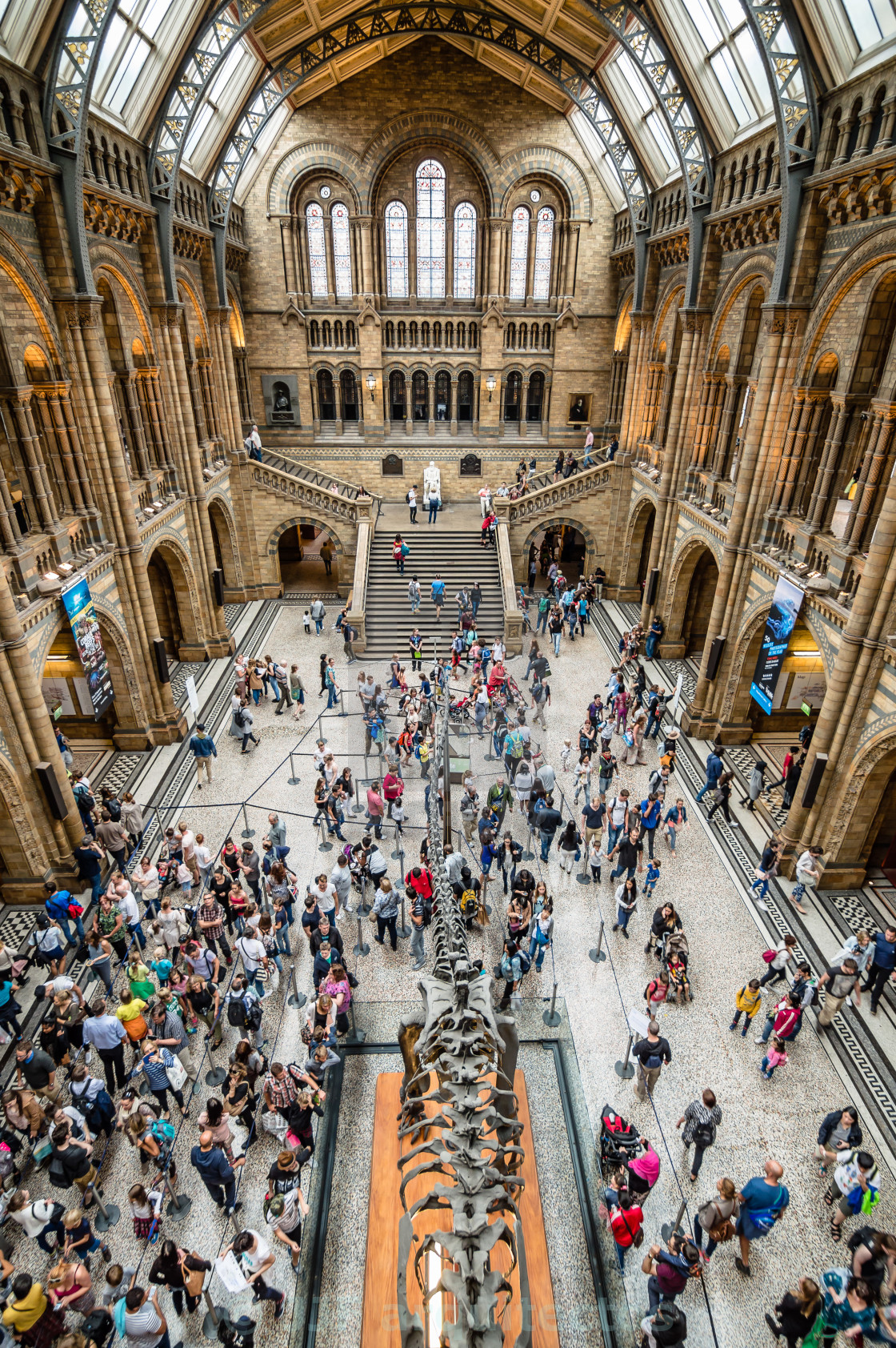 """London Natural History Museum"" stock image"