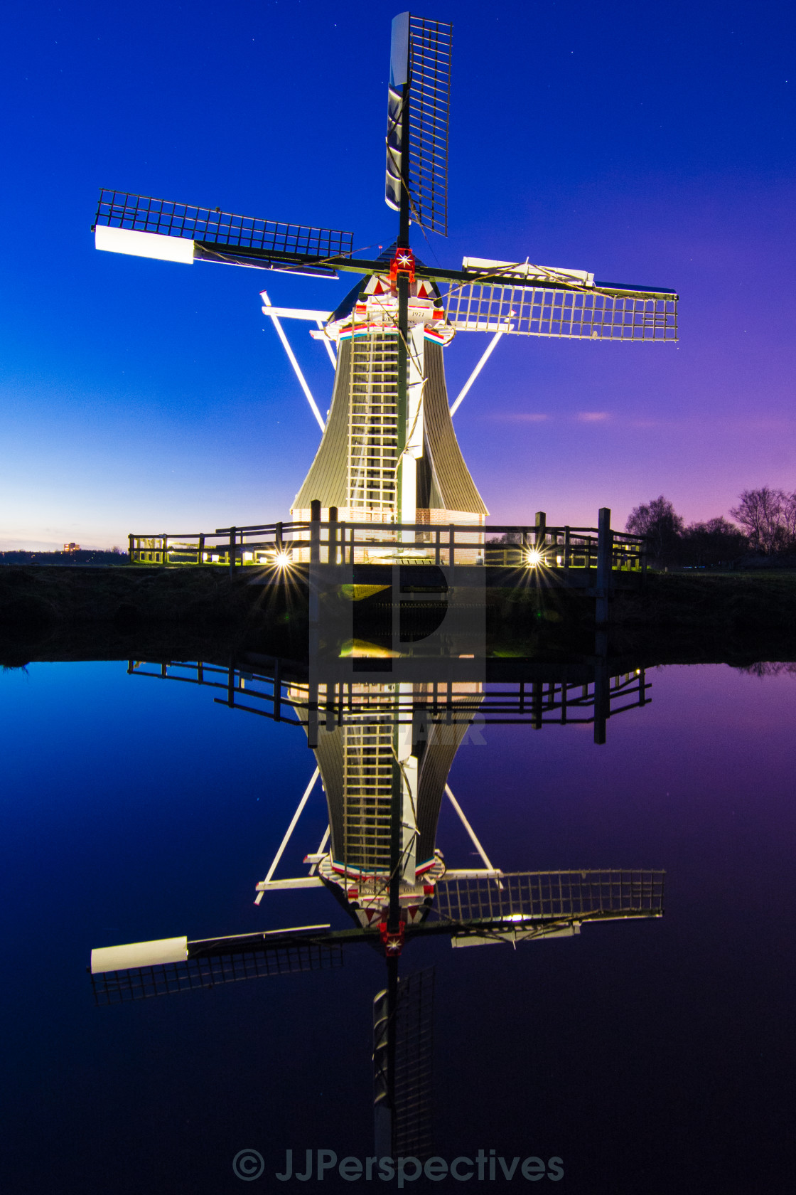 """Dutch Reflections"" stock image"