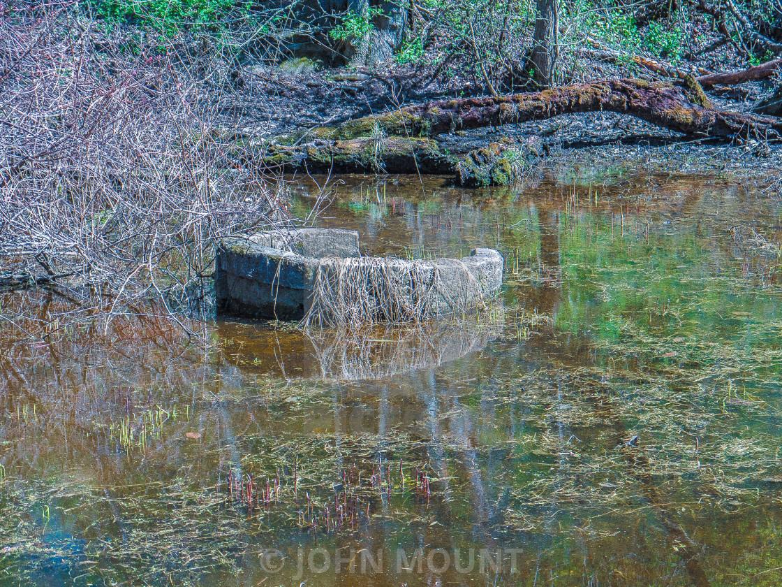 """DELAWARE AND RARITAN CANAL"" stock image"