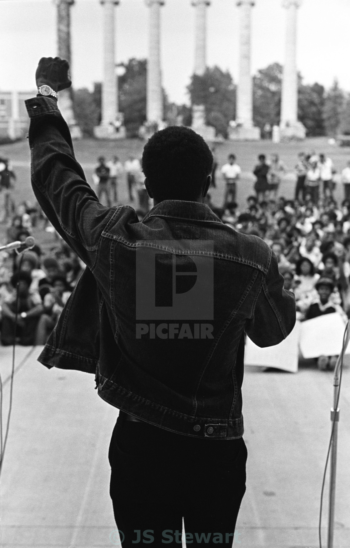 """Black Power"" stock image"