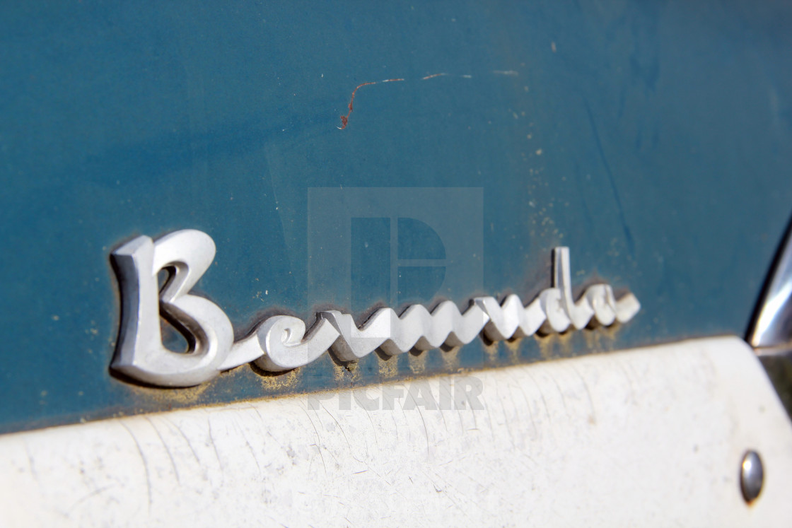 """BERMUDA EDSEL LOGO"" stock image"