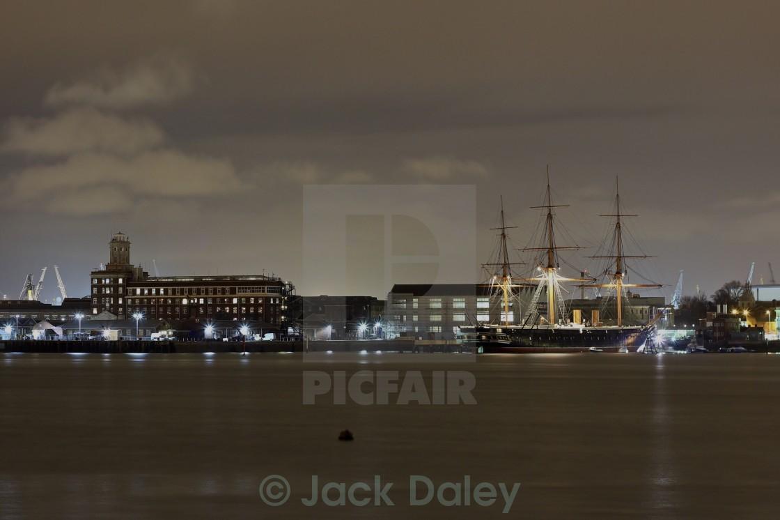 """HMS Warrior"" stock image"