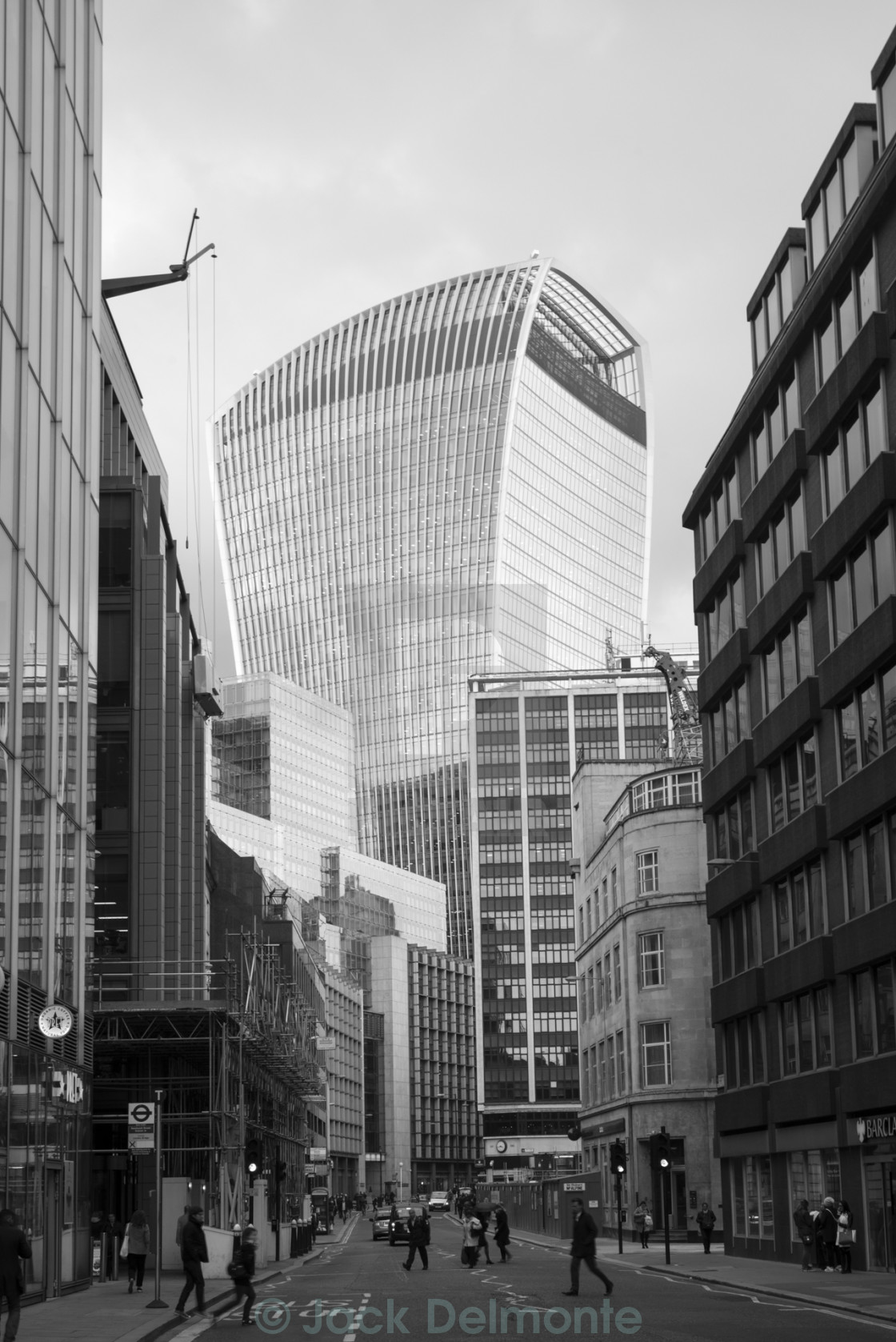 """Walkie-Talkie Building"" stock image"