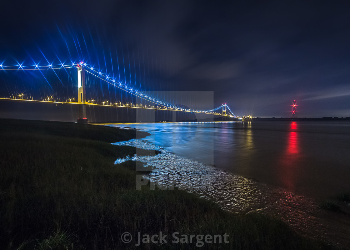 """Severn Bridge"" stock image"