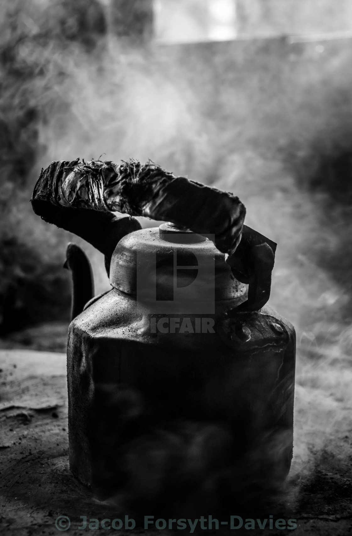 """Boiling Kettle"" stock image"