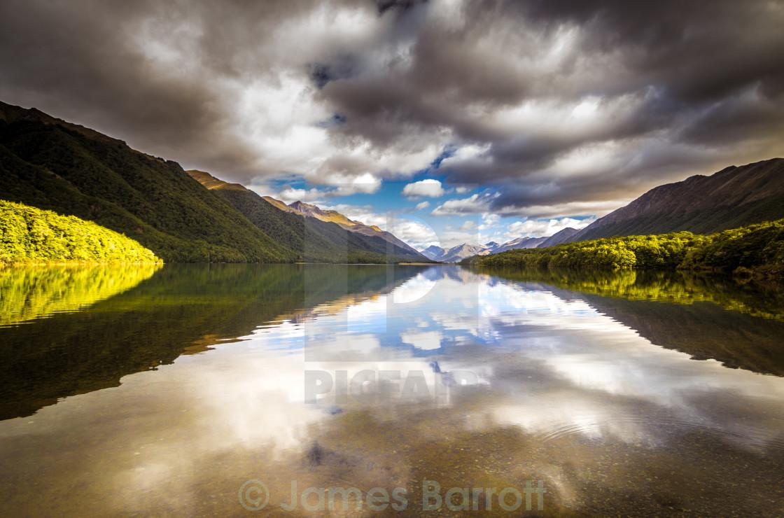 """North Mavora Lake"" stock image"