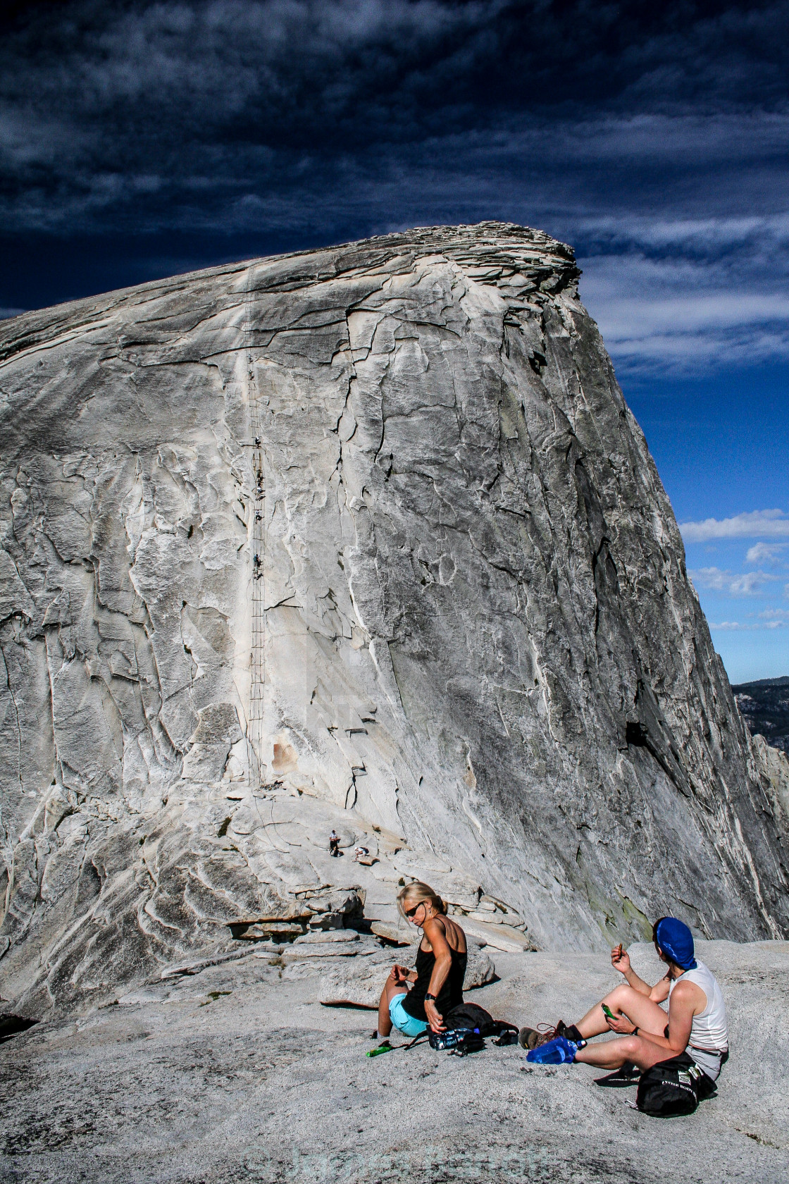 """Half Dome"" stock image"