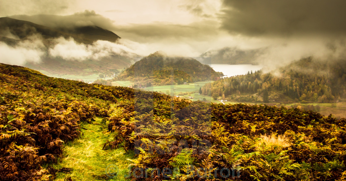 """""""Autumn in the Lake District"""" stock image"""