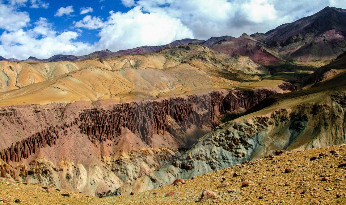 """The Markha Valley, Ladakh."" stock image"