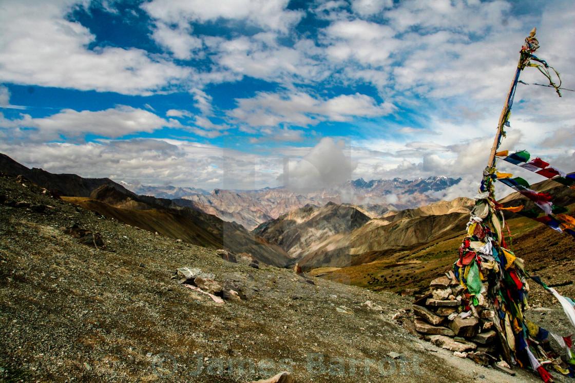 """The Ganda La pass, Ladakh."" stock image"