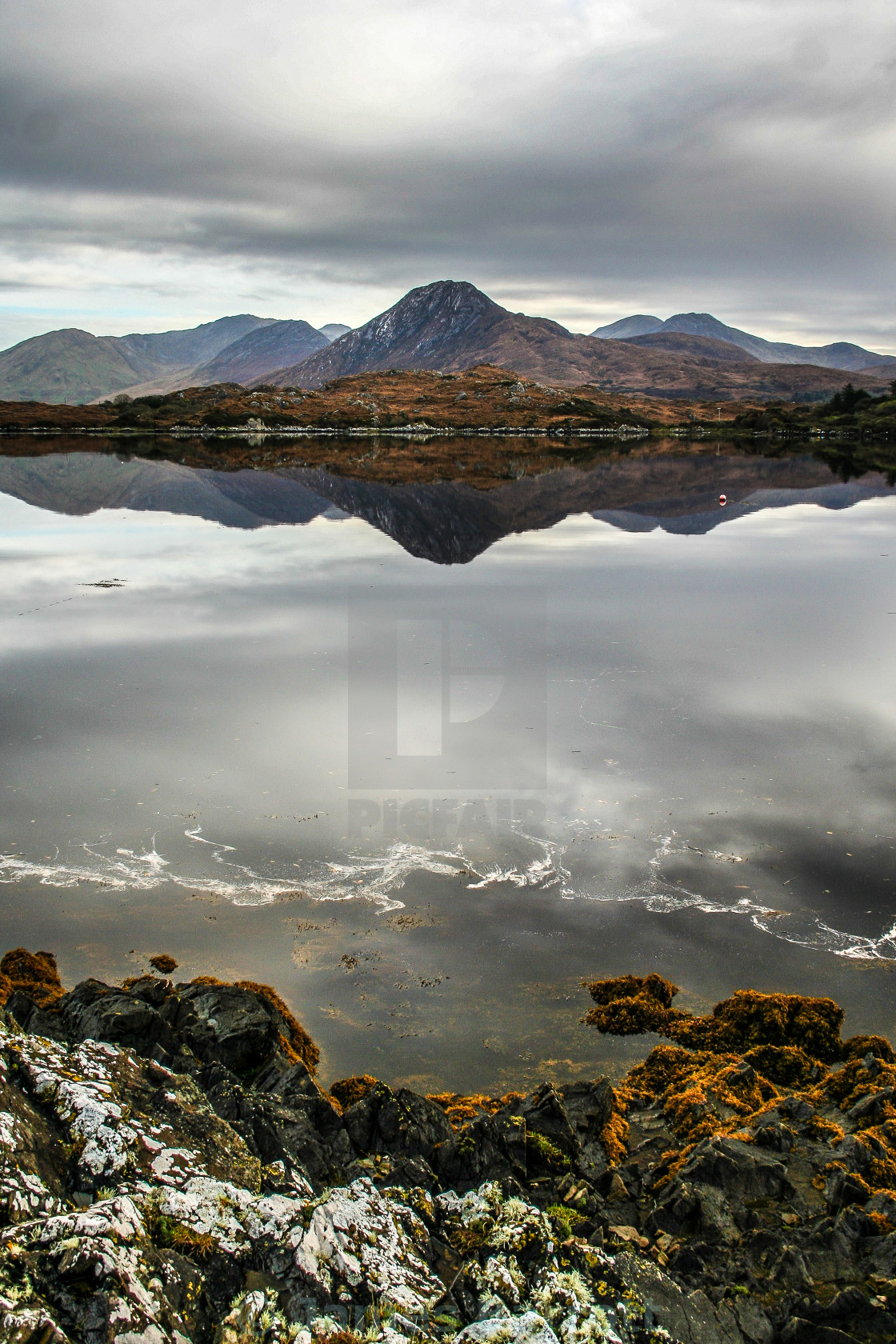 """The Connemara Coast"" stock image"
