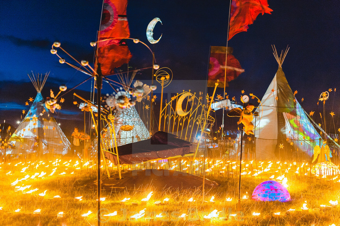 """BESTIVAL 2016, Celestial Dream"" stock image"